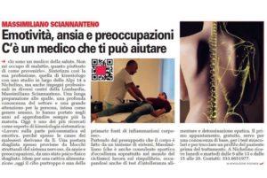 kinesiologia a Milano contro il dolore